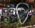 Memorial to Pavlos Fyssas, Killah P, killed by fascists September 2013, Athens.jpg